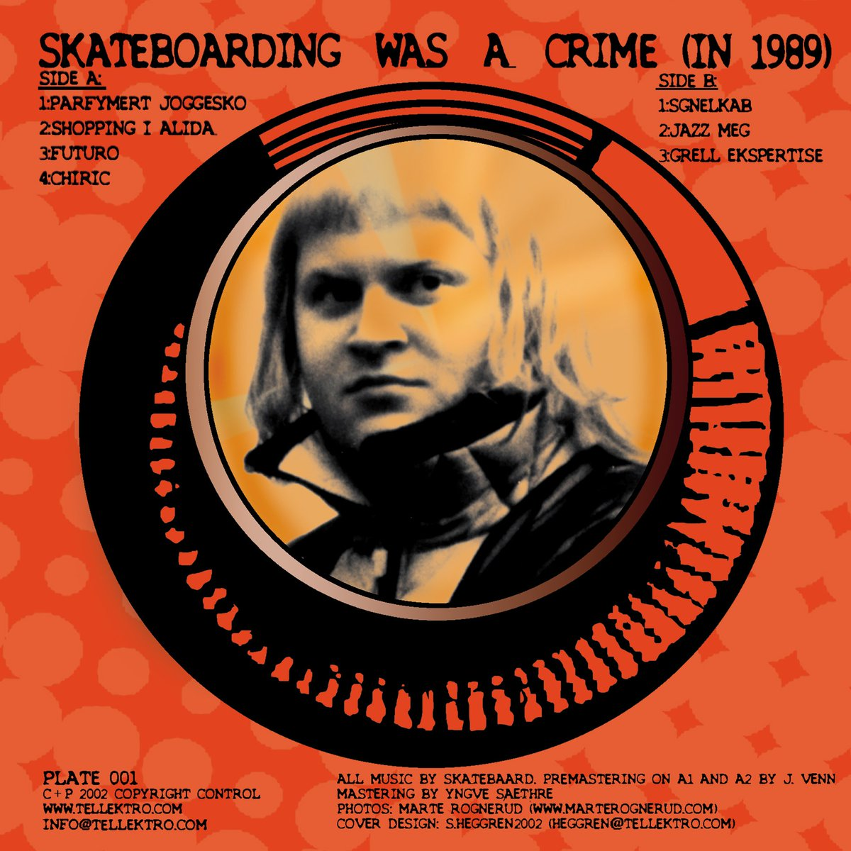 Album of the Week: Skatebård – Skateboarding was a crime: In 1989