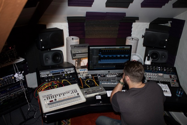 In the Studio with Karl Fraunhofer
