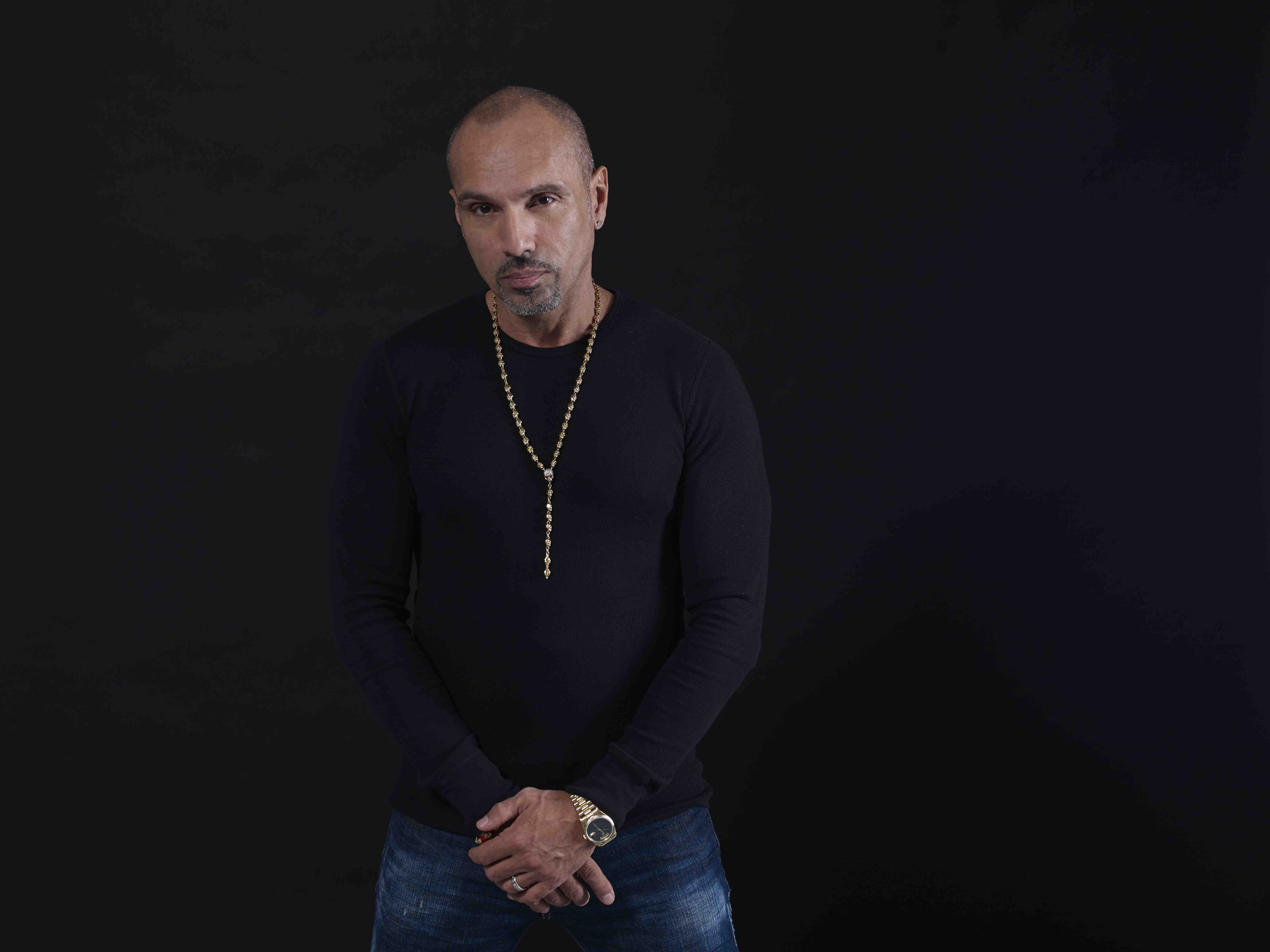 In the booth with David Morales